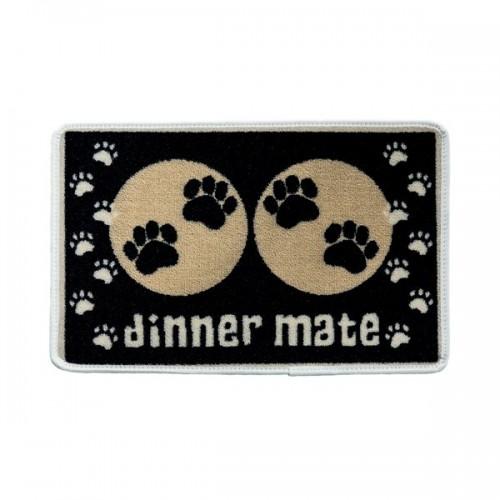 Tapis De Repas Noir Dinner Mate