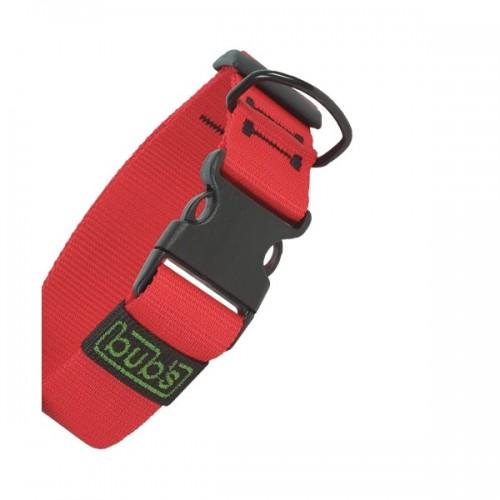 Colliers réglables Bub's classic rouge