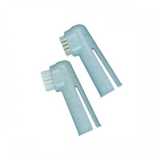 Lot de 2 brosses à dents-doigtiers